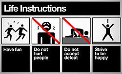 инструкция к жизни