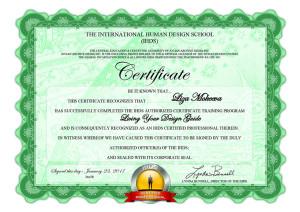 Liza Mokeeva LYDG Certificate1
